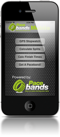 Pacebands Mobile App for iOS (FREE DOWNLOAD LINK BELOW)