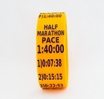 Half Marathon Paceband 1:40 Orange/Black