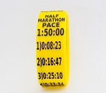 Half Marathon Paceband 1:50 Yellow/Black