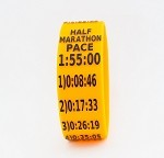 Half Marathon Paceband 1:55 Orange/Black