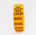 Half Marathon Paceband 2:05 Orange/Black
