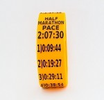 Half Marathon Paceband 2:07:30 Orange/Black