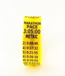 Metric Marathon Paceband 3:05 Yellow/Black