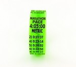Metric Marathon Paceband 4:05 Green/Black
