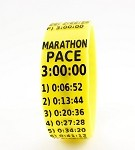 Marathon Paceband 3:00 Yellow/Black