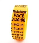 Marathon Paceband 3:10 Orange/Black