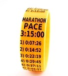 Marathon Paceband 3:15 Orange/Black