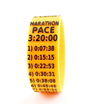 Marathon Paceband 3:20 Orange/Black