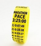 Marathon Paceband 3:25 Yellow/Black