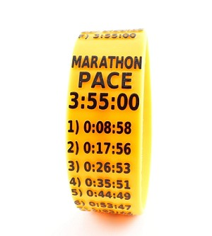 Marathon Paceband 3:55 Orange/Black