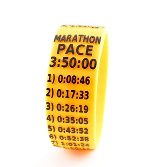 Marathon Paceband 3:50 Orange/Black