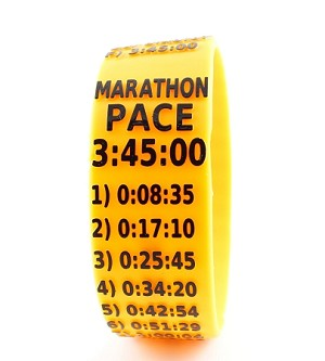 Marathon Paceband 3:45 Orange/Black