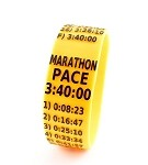 Marathon Paceband 3:40 Orange/Black
