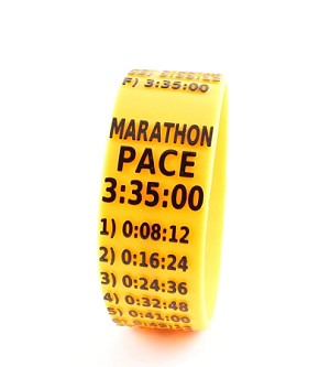 Marathon Paceband 3:35 Orange/Black