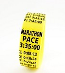 Marathon Paceband 3:35 Yellow/Black