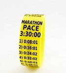 Marathon Paceband 3:30 Yellow/Black