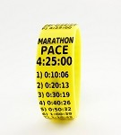Marathon Paceband 4:25 Yellow/Black