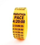 Marathon Paceband 4:20 Orange/Black