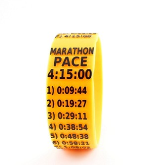 Marathon Paceband 4:15 Orange/Black