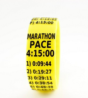 Marathon Paceband 4:15 Yellow/Black