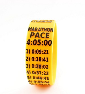 Marathon Paceband 4:05 Orange/Black