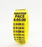 Marathon Paceband 4:05 Yellow/Black