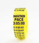 Marathon Paceband 3:05 Yellow/Black