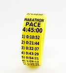 Marathon Paceband 4:45 Yellow/Black