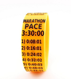 Marathon Paceband 3:30 Orange/Black