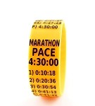 Marathon Paceband 4:30 Orange/Black