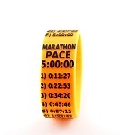 Marathon Paceband 5:00 Orange/Black