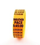 Marathon Paceband 5:45 Orange/Black