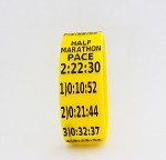 Half Marathon Paceband 2:22:30 Yellow/Black