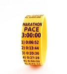 Marathon Paceband 3:00 Orange/Black
