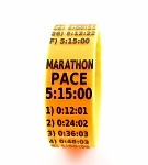 Marathon Paceband 5:15 Orange/Black