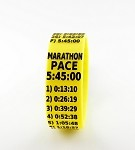 Marathon Paceband 5:45 Yellow/Black